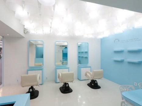 Permy Mi Jang Won Salon ร้านทำผมน่ารักๆของสาวเกาหลี 17 - interior design