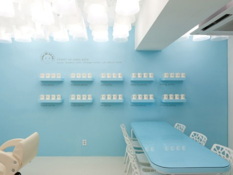 Permy Mi Jang Won Salon ร้านทำผมน่ารักๆของสาวเกาหลี 19 - interior design