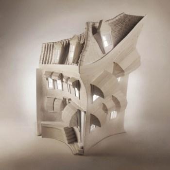 86654 slide 350x350 Paper sculptures กลายเป็น Animation