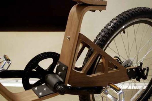 DSC 0431 525x350 Plywood Bike จักรยานไม้ ฝีมือคนไทย