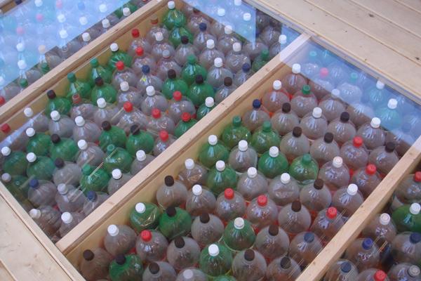 ร้านอาหารหรูลอยน้ำ..จากขวดพลาสติก 21 - school of fishing foundation