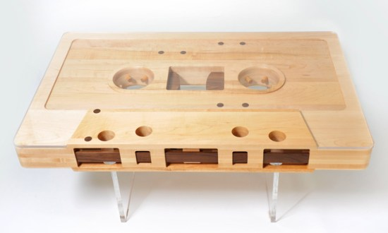 Cassette tape table ที่ยังคงความคลาสสิค 14 - table