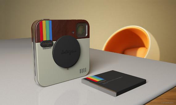 instagram socialmatic camera concept 04 กล้อง Instagram Socialmatic
