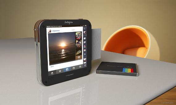 instagram socialmatic camera concept 06 กล้อง Instagram Socialmatic