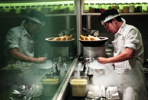 pioneer 518x350 Gaggan Indian Cuisine อาหารอินเดียแบบ Molecular คือการเสิร์ฟอาหารที่ทำให้นักบินอวกาศมาดัดแปลงใหม่
