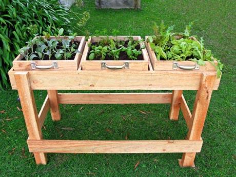 "DIY: ""Garden Bench"" ลิ้นชัก-กระถางใบใหม่ของเหล่าต้นไม้และพืชพรรณขนาดเล็ก 13 - DIY"
