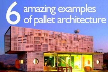 เมื่อ Pallet ไม้เก่า กลายเป็นสิ่งปลูกสร้างสุดอัศจรรย์ 20 - รีไซเคิล