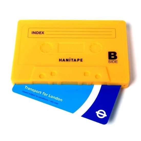25550623 095304 กระเป๋าสตางค์ทำจากยางซิลิโคน แนว Retro ..รูปทรง cassette tape