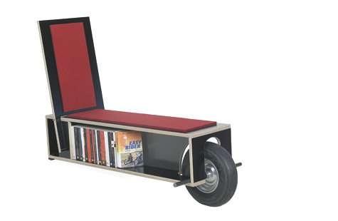 25550623 100100 เก้าอี้ที่เก็บหนังสือ ..แถมติดล้อเคลื่อนย้ายสะดวก
