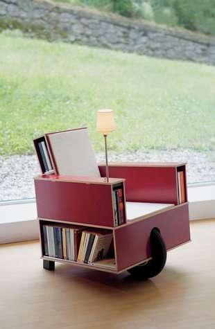 25550623 100112 เก้าอี้ที่เก็บหนังสือ ..แถมติดล้อเคลื่อนย้ายสะดวก