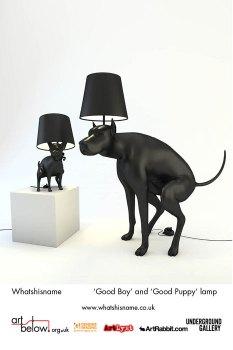 GOOD BOY, GOOD PUPPY LAMPS โคมไฟน้องหมา 18 - good boy
