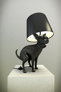 GoodPuppy01 233x350 GOOD BOY, GOOD PUPPY LAMPS โคมไฟน้องหมา