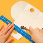 carton wallet craft step2 photo 150 FF0209EFA17 D.I.Y.กระเป๋าสตางค์จากกล่องน้ำผลไม้ใช้แล้ว