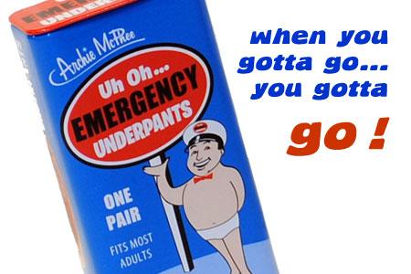 emerguw Emergency Underpants ก.ก.น.ฉุกเฉิน