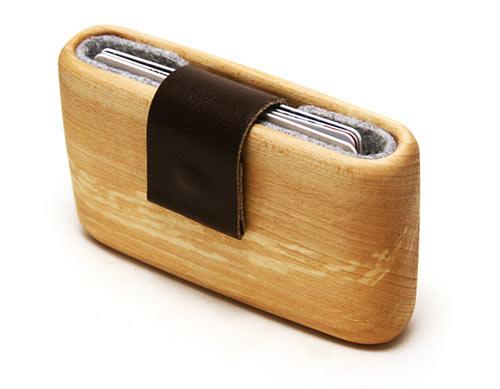 WOODWALLET กล่องเก็บนามบัตรทำจากไม้ 13 - case