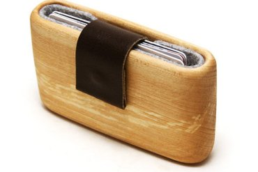 WOODWALLET กล่องเก็บนามบัตรทำจากไม้ 16 - wood