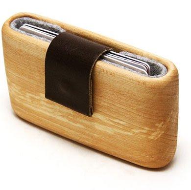 WOODWALLET กล่องเก็บนามบัตรทำจากไม้ 18 - case