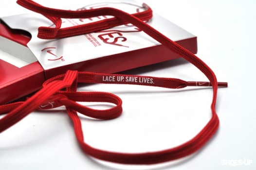 nike laced red 526x350 LACE UP SAVE LIVES ผูกเชือก ช่วยชีวิต
