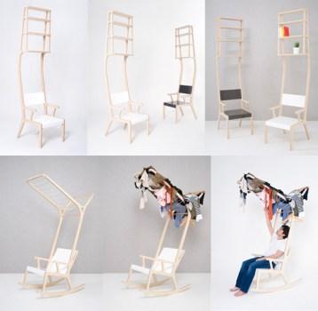 Object-A,B,Eเก้าอี้ multi-function สัญชาติเกาหลี 14 - chair