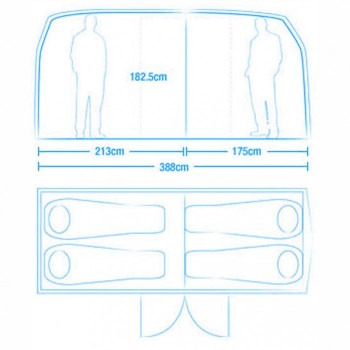Volkswagen Van Tent เต๊นท์นี้นอนได้ถึง 4 คน!! 17 - Car
