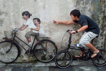 Interactive Painting..ภาพเขียน street art ที่ดึงให้คนมีส่วนร่วม 29 - street art