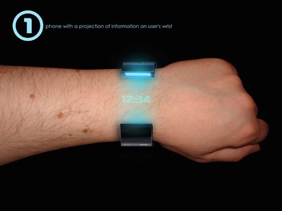 Rollerphone..สมาร์ทโฟน บนสายรัดข้อมือ แบบหนัง Sci-Fi เลย 13 - cool gadget