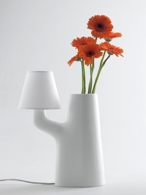 25550711 193713 แจกันโคมไฟ...ใช้การสัมผัสดอกไม้ เป็นสวิตช์เปิด ปิด