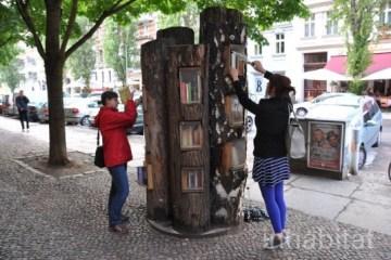 Book Forest..ป่าหนังสือ จุดแลกเปลี่ยนหนังสือ ส่งเสริมนิสัยรักการอ่าน  และสอนให้รู้คุณค่าของป่า 2 - book forest