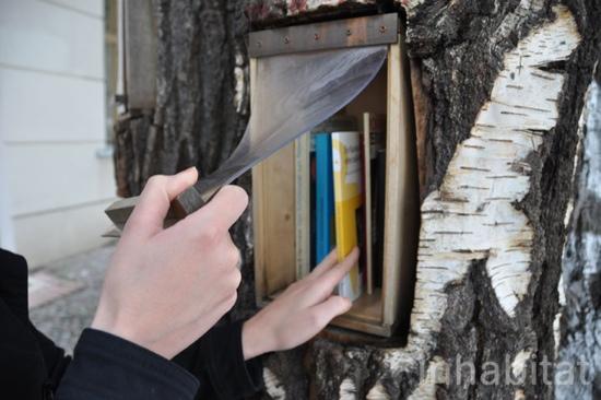 25550717 144344 Book Forest..ป่าหนังสือ จุดแลกเปลี่ยนหนังสือ ส่งเสริมนิสัยรักการอ่าน และสอนให้รู้คุณค่าของป่า
