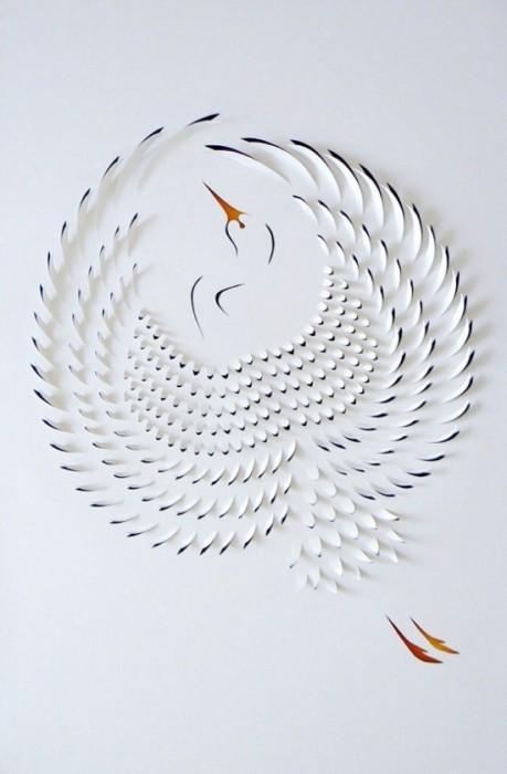 25550721 183835 งานศิลปจากการตัดกระดาษ โดย Lisa Rodden