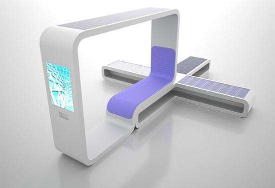 จุดให้บริการข้อมูล..ที่อุปกรณ์ทุกชิ้นได้พลังงานจาก แสงอาทิตย์ 13 - green energy