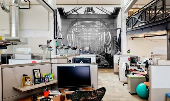 Google office ในเมืองPittsburgh..สะท้อนประวัติศาสตร์เมือง เป็นมิตรกับสิ่งแวดล้อม และไม่ขาดความสนุกสนาน... 13 - Google