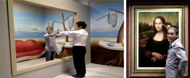 Art in Paradise Pattaya พิพิธภัณฑ์ภาพจิตรกรรม 3 มิติ สนุกสนานไปกับภาพวาดลวงตาทะลุมิติ ที่พัทยา 17 - 100 Share+