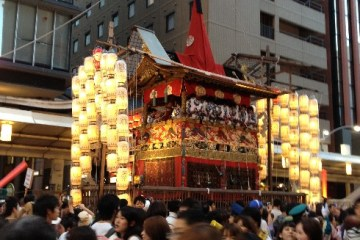 By the official summer start - Kyoto Gion Festival