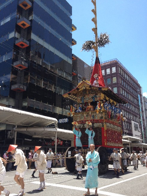 By the official summer start - Kyoto Gion Festival 16 - festival