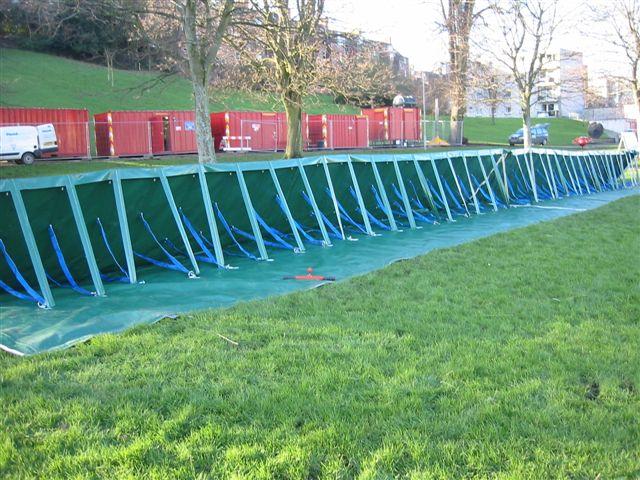 Update ระบบป้องกันน้ำท่วม..เตรียมรับมือน้ำที่กำลังจะมา 21 - aquafence