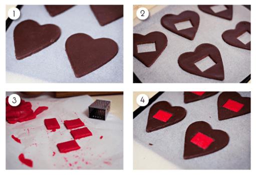 Screen Shot 2012 07 03 at 9.00.02 PM 511x350 คุกกี้โดโมะ น่ารักๆ chocolate domo kun heart cookies