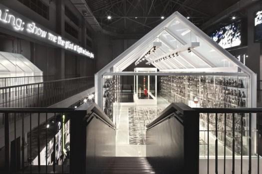 Shanghai Museum of Glass 11 525x350 Shanghai Museum of Glass พิพิธภัณฑ์ความงามของอุตสาหกรรมแก้ว กระจก และคริสตัล