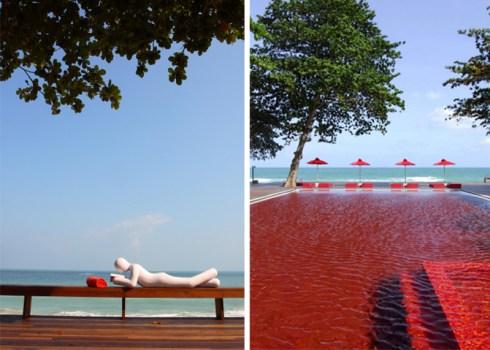 ere 490x350 THE LIBRARY เดอะ ไลบรารี่ เกาะสมุย กับสระว่ายน้ำสีแดงแปลกตาที่เปิดโล่งให้เห็นวิวทะเล และผู้รักการอ่านหนังสือ