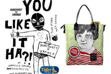 Urface X Dudesweet กระเป๋าพริ้นท์สกรีนหมึกที่เป็นมิตรกับสิ่งแวดล้อม การันตีว่ามีใบเดียวในโลกเสียด้วย