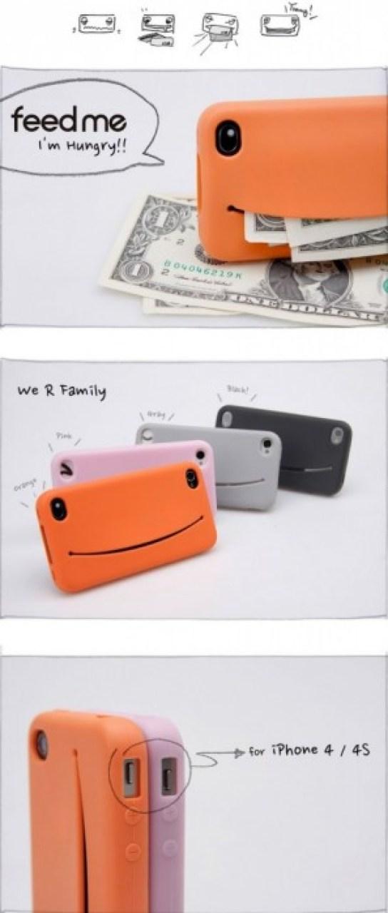 feedme 2 Feed Me iPhone Case...เคสน่ารักๆ มีปากยิ้ม ไว้ใส่ของ