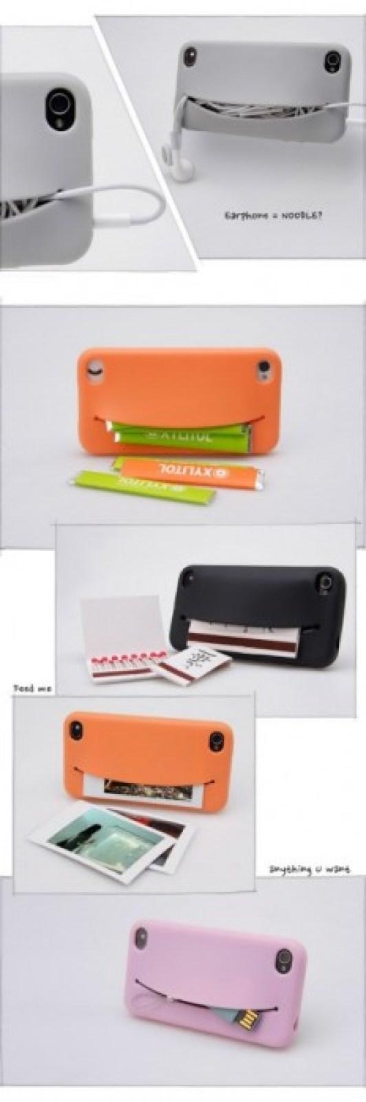 feedme 4 Feed Me iPhone Case...เคสน่ารักๆ มีปากยิ้ม ไว้ใส่ของ