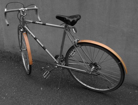 Wooden Bike Accessories หลากหลายของตกแต่งจักรยานที่ทำจากไม้ 14 - Walnut