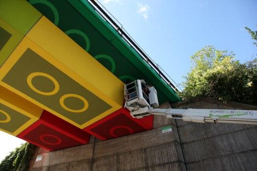 LEGO bridge in germany สะพานเลโก้ 17 - bridge