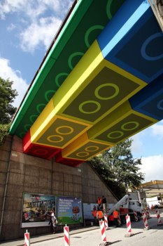 LEGO bridge in germany สะพานเลโก้ 5 - bridge