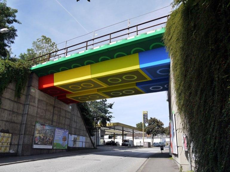 LEGO bridge in germany สะพานเลโก้ 13 - bridge