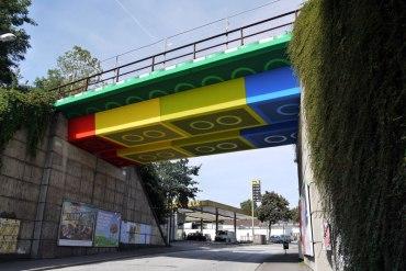 LEGO bridge in germany สะพานเลโก้ 29 - Lego