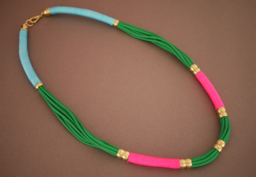 DIY.Rope Necklace ของขวัญให้คุณแม่ 23 - DIY