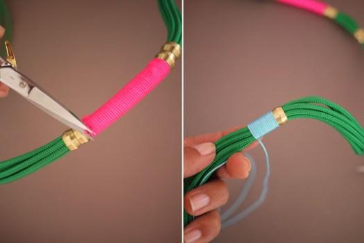 DIY.Rope Necklace ของขวัญให้คุณแม่ 20 - DIY
