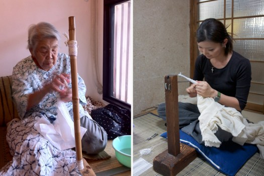"""โคมไฟจากผ้า เทคนิค""""Shibori"""" จากงานฝีมือที่ถ่ายทอดจากรุ่นสู่รุ่นของตระกูล """"Murase""""  16 - suzusan-shibori"""